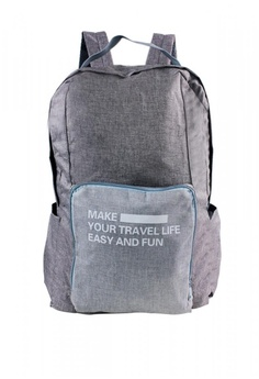 dd2e3dc04274 Travel Manila grey Weekeight Denim Foldable Backpack TR905AC0IO01PH 1