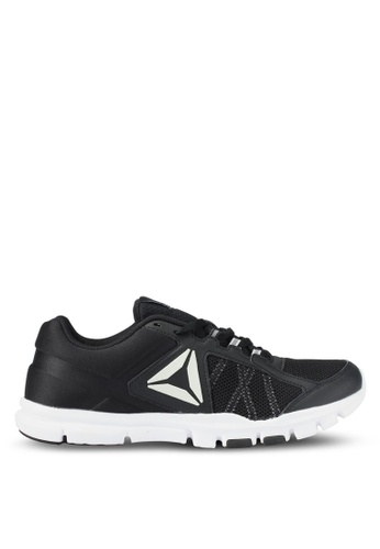 Reebok black and grey and white Yourflex Train 9.0 Mt Shoes RE691SH0SX4JMY_1