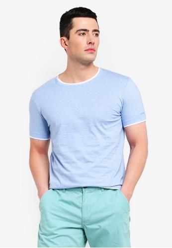 ESPRIT blue Short Sleeve T-Shirt C84B1AA620C170GS_1