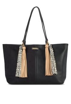 Tassel Front Beach Bag