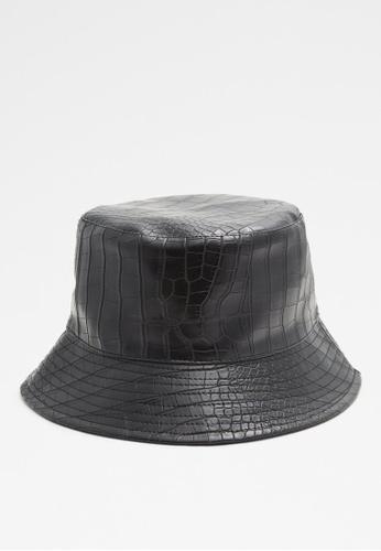ALDO black Wacy Bucket Hat 7088FACB90267CGS_1
