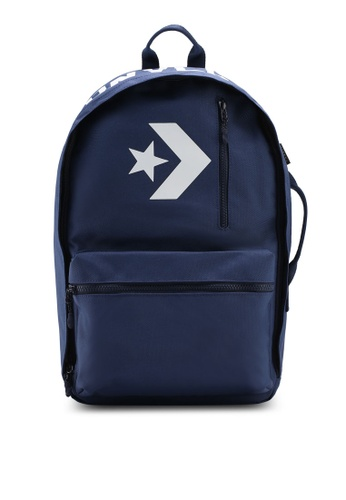 Converse navy Street 22 Backpack CO302AC0SW5OMY_1