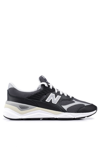 New Balance black X90 Heritage Reconstructed Shoes 966A2SH9D7327DGS_1