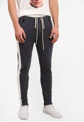Flesh IMP grey Pocket Zipper Yondu Jogger Pants FL064AA0S5U3MY_1