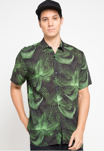 Nade green Nade NK006 Kemeja Maui Hijau 20FA2AA595C1D3GS_1