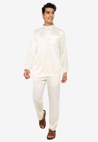 REALFANTASY white BAJU MELAYU SHAH ISKANDAR 9D387AA715D82DGS_1