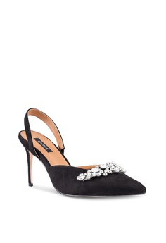 70% OFF ZALORA Embellished Mules Pumps RM 159.00 NOW RM 47.90 Available in  several sizes