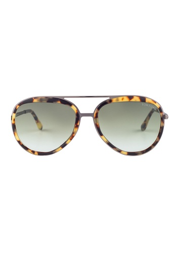 b23af16a8e83f Tom Ford TOM FORD Andy Aviator Tortoise Sunglasses TF468 TO545AC42JFXMY 1.  CLICK TO ZOOM