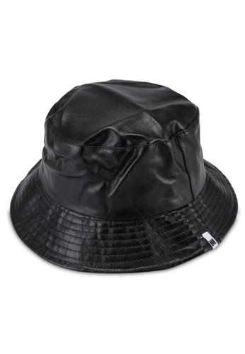 Milliot & Co. black Dylan Bucket Hat 289EEAC8AA1EE9GS_1