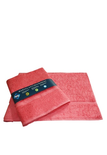 Martel pink Martel Sanitized Bath Towel D91A6HL31DA57AGS_1