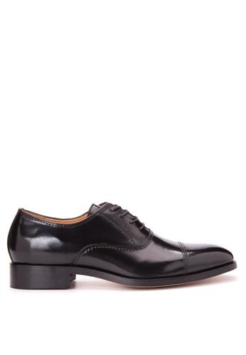 Bristol Shoes black Benedict Black Cap Toe Oxford BR842SH84JTZPH_1