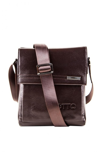 Otto brown Mini Crossbody Bag 15680ACADBCA75GS_1