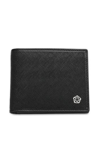 Wild Channel black Men's RFID Blocking Bi Fold Wallet 079B8AC09C3F1AGS_1