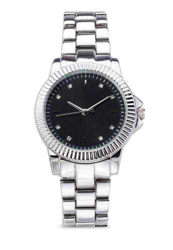 經典男友zalora 台灣風金屬圓錶, 錶類, 飾品配件