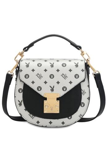 PLAYBOY BUNNY 銀色 Women's Sling Bag / Shoulder Bag / Crossbody Bag 7A0D1ACE5C0026GS_1