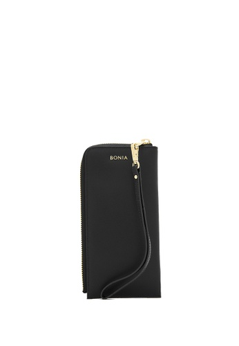 BONIA black Black Bikki Wristlet Wallet 75E60AC258ADC8GS_1