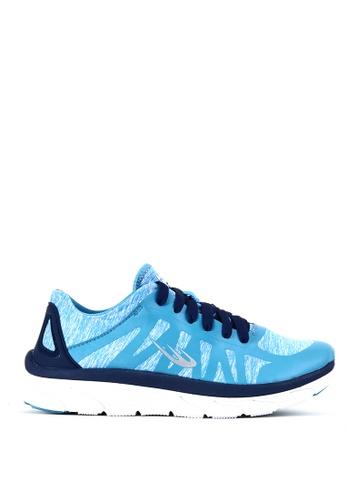 World Balance blue Air Wave L Running Shoes 25CFASH3DC6B90GS_1