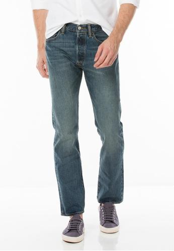 Levi's blue 501® Original Fit Jeans LE843AA85JGOSG_1