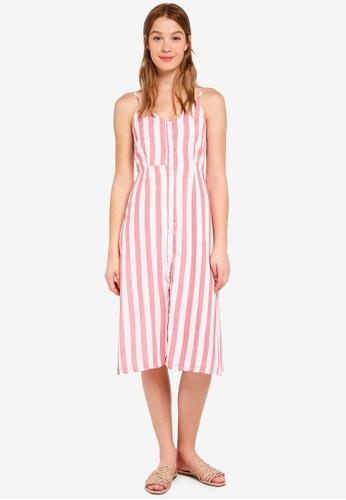 Glamorous multi Stripe Dress 0FEAAAA01ABDDBGS_1