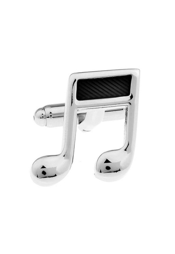 The Little Link Cufflinks silver Do Re Mi cufflinks TH089AC0FSVMSG_1