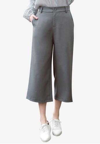 Tokichoi grey Wide Legged Trousers 444DFAA2ED0D0DGS_1