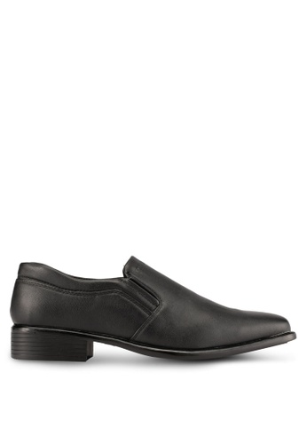 Albertini black Slip On Dress Shoes AL779SH0SAWNMY_1