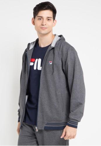 FILA grey Jacket Caden FI346AA0WP2MID_1