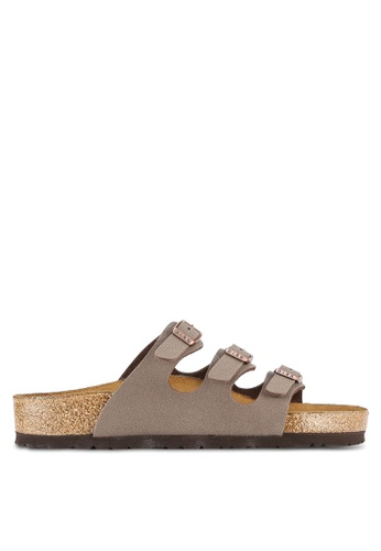 Birkenstock brown Florida BF SFB Sandals BI090SH0RTI8MY_1