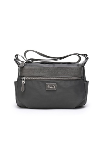 DUSTY grey TC-Shlouder Bag A0D6EAC97B5E28GS_1