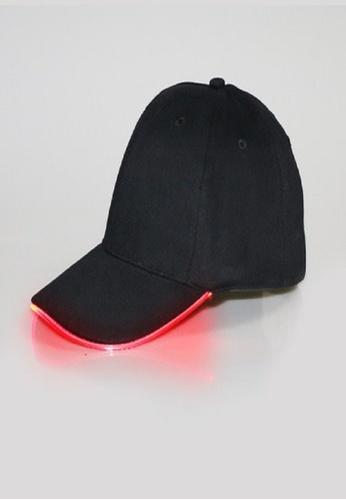 Dolce Zen black Unisex LED Baseball Cap B9723AC7747092GS_1