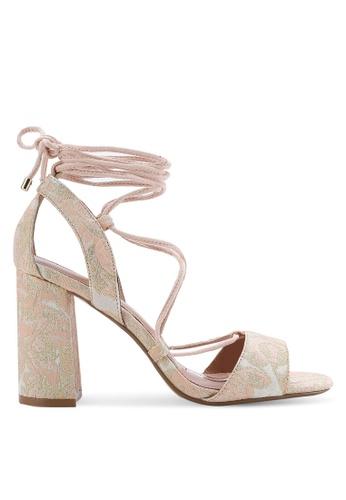 TOPSHOP beige Marrakech Block Heel Sandals TO412SH01RICMY_1