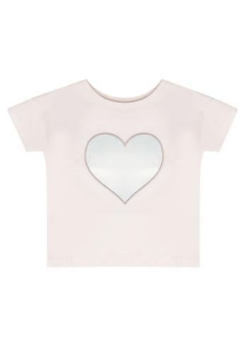 FOX Kids & Baby pink Baby Girl Heart Tee 5001FKABB486DFGS_1