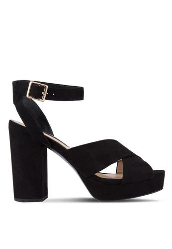 Miss Selfridge black Black Cabaret Platform Heels MI665SH53UMSMY_1