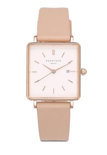 Rosefield pink The Boxy Watch E6268AC2F091ADGS_1