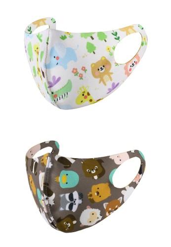 Rokarola multi Scuba Baby Mask Animal-Woodland (2 pc) C1282ES972036AGS_1