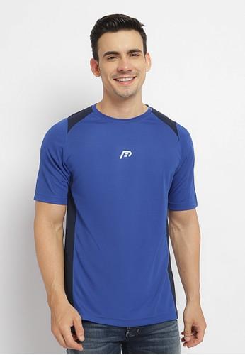 Poshboy blue Poshboy Elvis T-Shirt Blue B319AAAF779C71GS_1