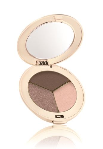 Jane Iredale brown Purepressed Eye Shadow Triple- Brown Sugar JA379BE64NPNSG_1
