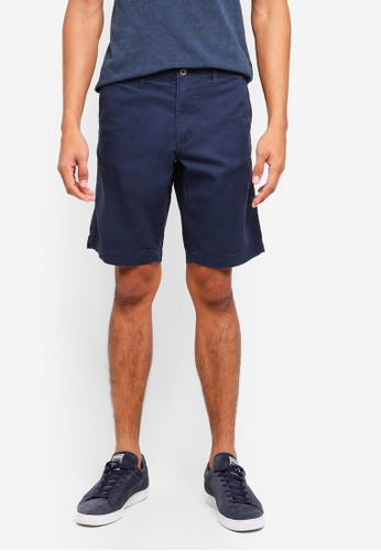 OVS blue and navy Casual Chino Shorts 154B0AA208DDDBGS_1