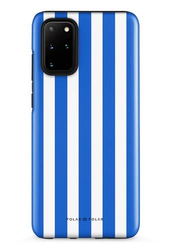 Polar Polar blue Blue Stripe Samsung Galaxy S20 Plus 5G Dual-Layer Protective Phone Case (Glossy) E909AACDCF2AD0GS_1