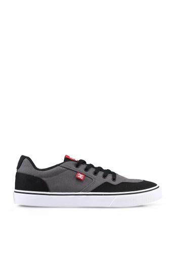 DC Shoes grey Rowlan Tx Shoes 14CDCSH776D105GS_1