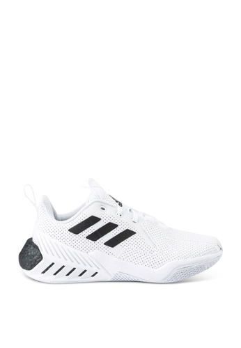 ADIDAS white 4uture one running shoes 62E88KS89E1CBEGS_1
