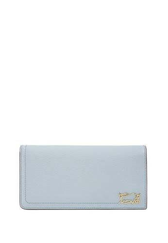 Braun Buffel blue Thonet 2 Fold Long Wallet with Zip Compartment 4A966ACC4C05E3GS_1