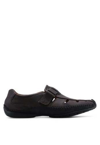 Louis Cuppers brown Cut Out Shoes 086B7SHBE9EADFGS_1