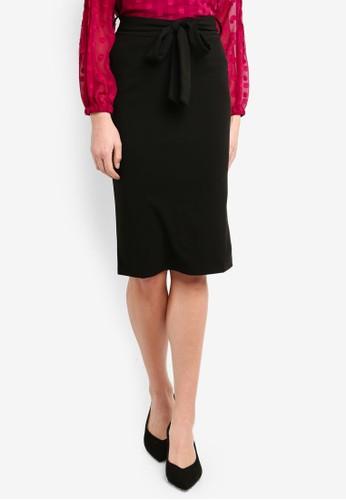 Vero Moda black Carrie HW Skirt D7074AA19F31DEGS_1