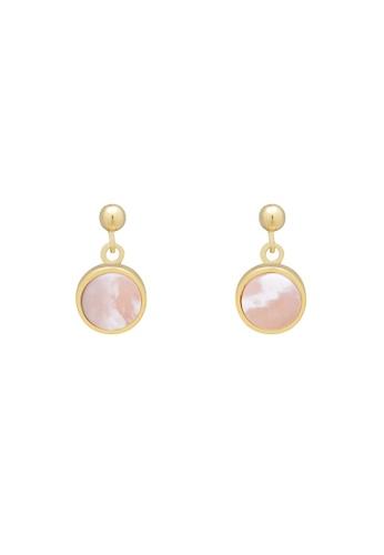 SKEDA pink Beatrice Drop Earrings 6D212AC534C4F8GS_1