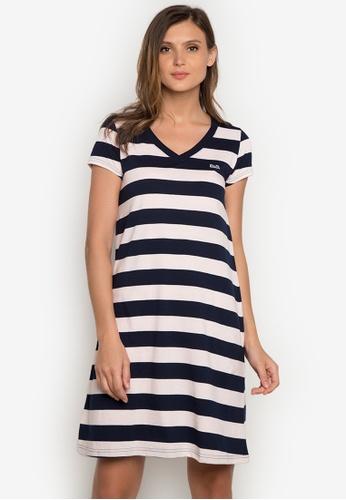 Le Tigre navy Ladies Dress LE798AA0K41DPH_1