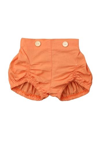 RAISING LITTLE orange Nadal Bloomers 416D2KA5BBCD12GS_1
