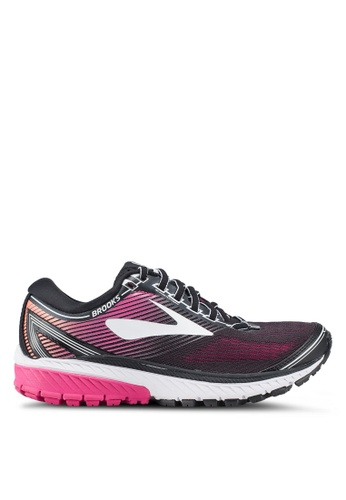 Brooks black Ghost 10 Shoes 77A04SH8D55EE5GS_1