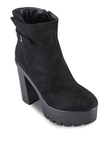 Heeled Ankle Boots,zalora 泳衣 女鞋, 鞋