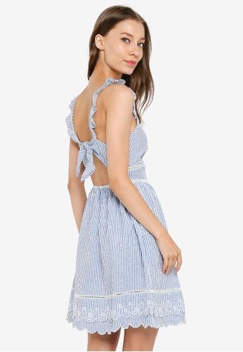 SUPERDRY blue Gia Cami Dress 5643CAA7DF606CGS_1